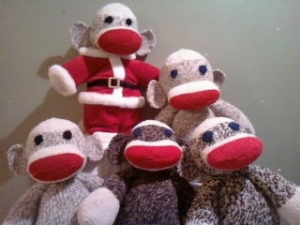 Katy Lee Books' Sock Monkeys