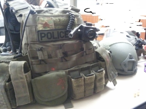SWAT/Emergency Response Team Vest