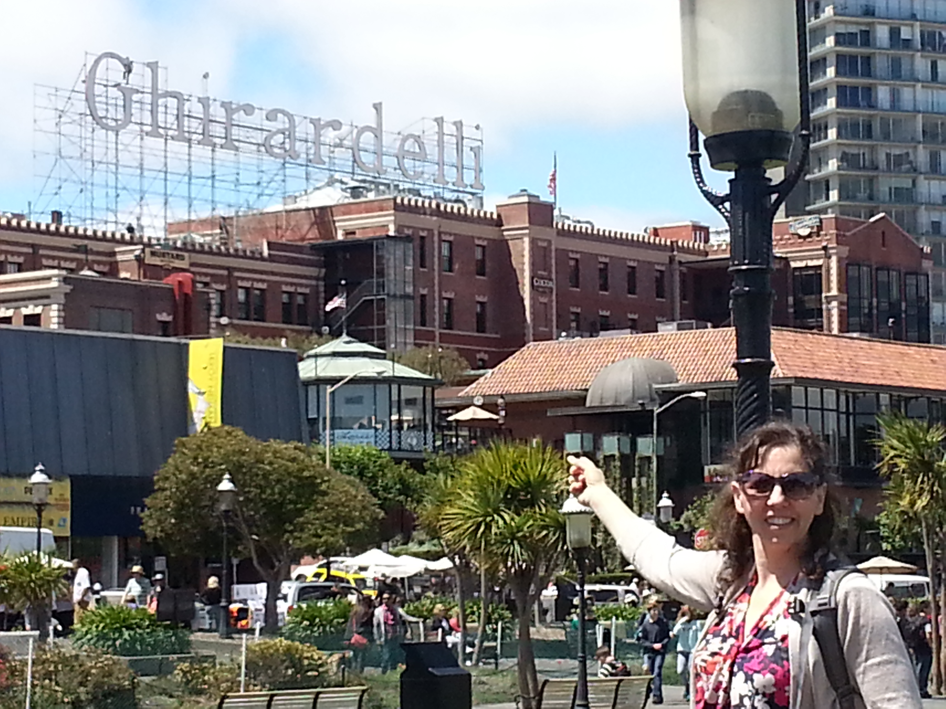 Katy Cannon San Francisco Ghirardelli